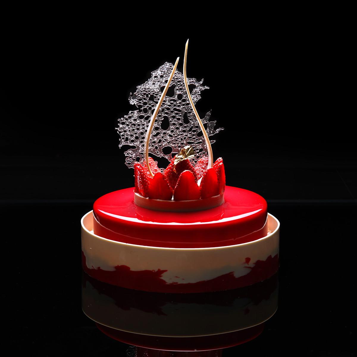 dinara kasko geometrical and mathematical cake design