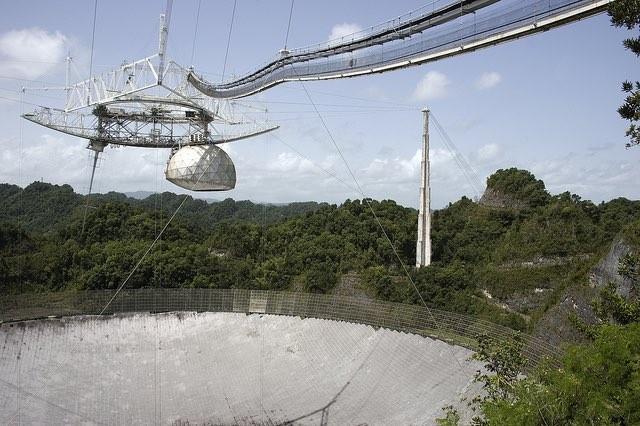 Hurricane Maria Leaves the Giant Arecibo Radio Telescope Damaged