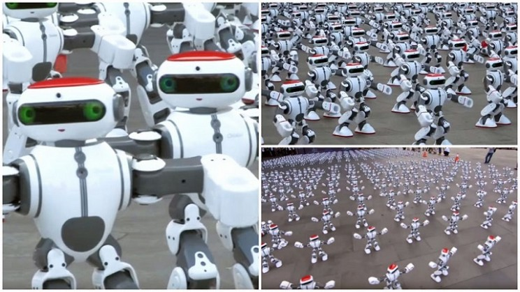 1069 Dancing Robots Set New Guinness World Record