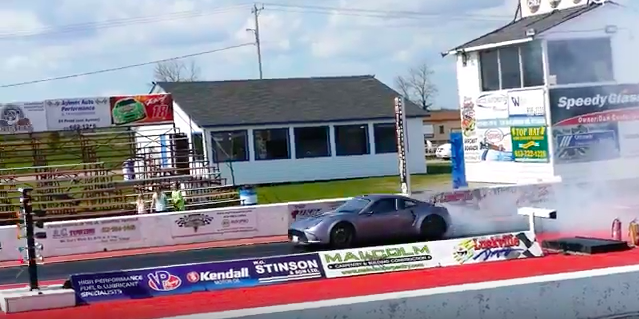 This Tesla-Powered Kit Car Just Ran A 9-Second Quarter Mile