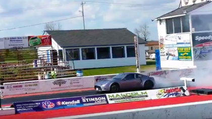 This Tesla-Powered Kit Car Just Ran A 9-Second Quarter Mile