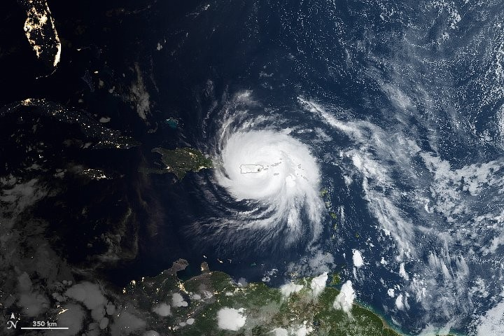Hurricane Maria Could Leave Puerto Rico Without Power for 6 Months