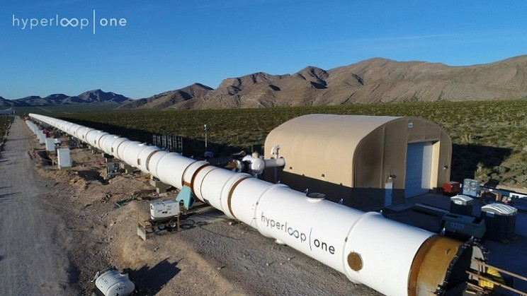 Hyperloop One Announces 10 High-Potential Routes Around the World