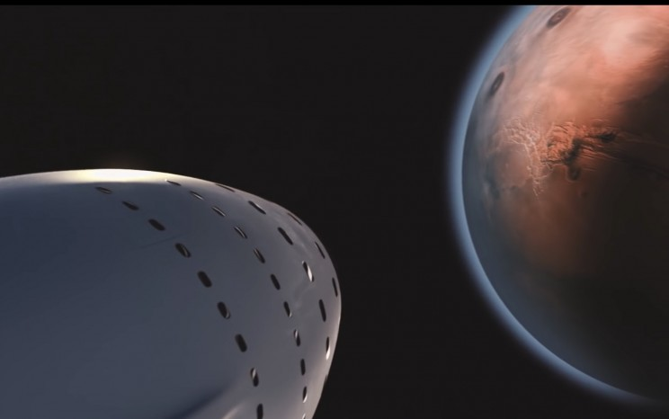 Elon Musk Teases a Look at How We'll Travel Between Planets in the Future
