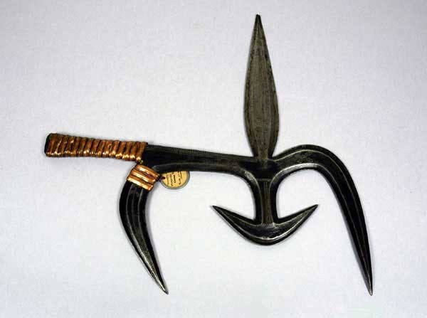This Ancient Multi-Bladed Throwing Knife Is Designed to Inflict the Maximum Damage to the Enemy