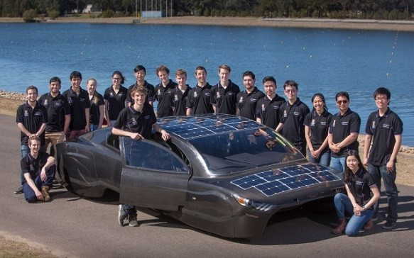 This Sleek Four-Seat Sedan Is Set to Compete in 3000km Solar Car Race