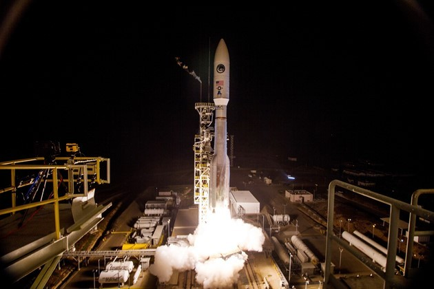 The U.S. Military Launches A Top Secret Spy Satellite Into Orbit