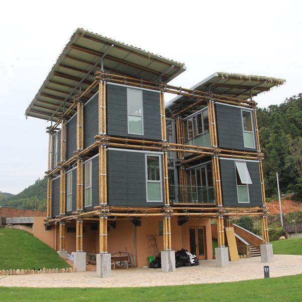 This Energy Efficient Bamboo House is Designed to Have Minimal Footprint