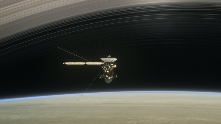 NASA Will Livestream Cassini Spacecraft's Last Moments As It Slams Into Saturn's Atmosphere