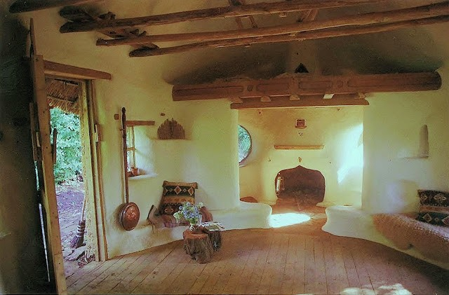 Retired Art Teacher Erects Charming Cob House for a Mere $250!