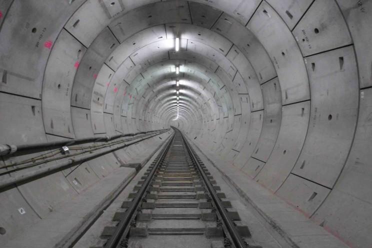 London's Brand New £14.8 Billion Railway Gets Its Permanent Track