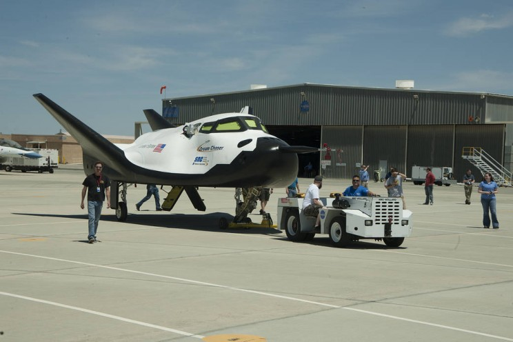 NASA Reveals Its New Reusable Space Vehicle - the Dream Chaser