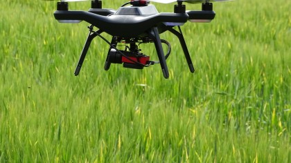 This Project Used Drones To Farm An Entire Crop, And It's Ready For Harvesting