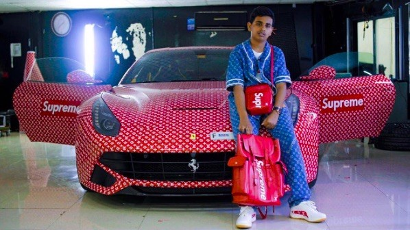 Richest Kid In Dubai >> This 15 Year Old Rich Kid From Dubai Just Got His Ferrari Wrapped In