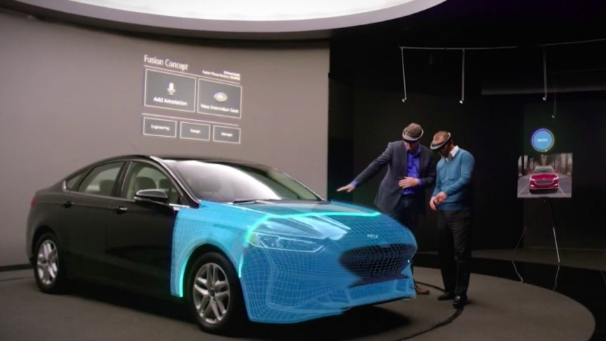 Ford Uses Microsoft HoloLens to Speed Up the Car Design Process