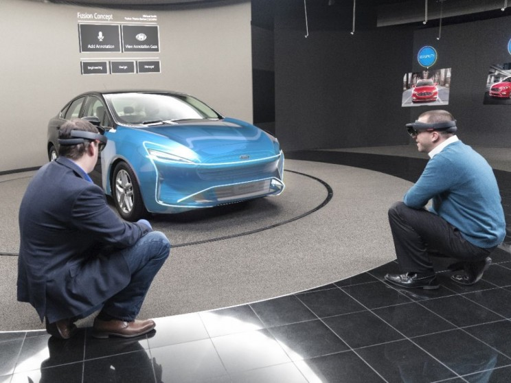Virtual Reality Mixed Reality Ford