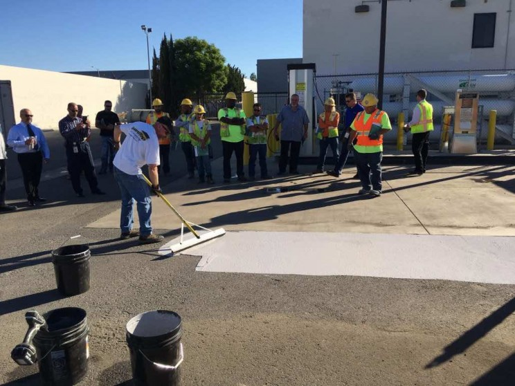 Los Angeles Is Coating Its Streets With A Special Gray Paint to Beat Urban Heat