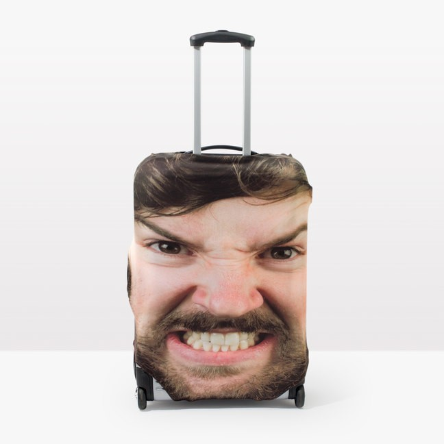 You Can Now Personalize Your Suitcase By Covering It With A Gigantic Photo of Your Face