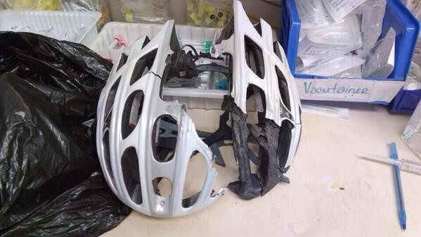 These 8 Scary Post-Accident Photos Prove That Helmets Save Lives