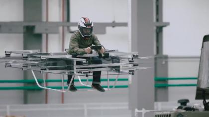 Kalashnikov Just Unveiled Its New Futuristic Manned Hoverbike