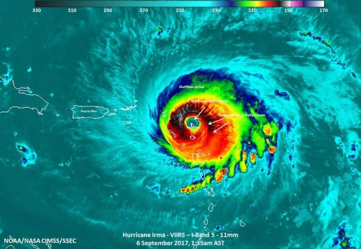 Numbers Behind the Deadly Hurricane Irma
