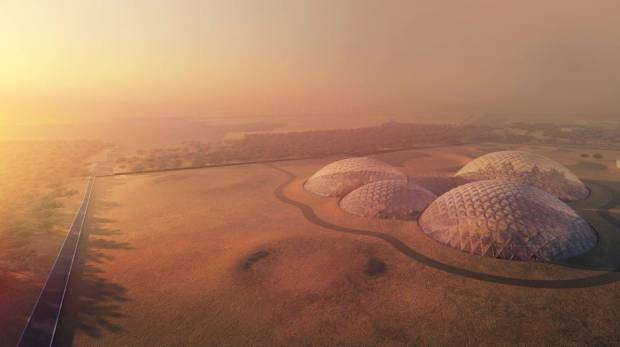 The UAE Is Building A $140 Million 'Martian City' Right Here On Earth