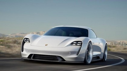Porsche's Gorgeous Tesla Rival Will Be on the Road by 2019