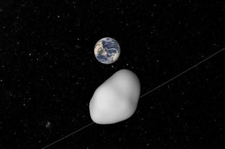 A Massive Asteroid With Two Moons Just Traveled Past Earth