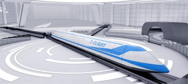 China Plans to Develop A 'Flying Train' That Could Reach Speeds of 4,000km/h