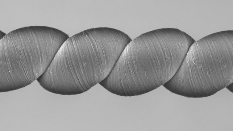 Carbon Nanotube Yarn Turns Movement Into Electricity