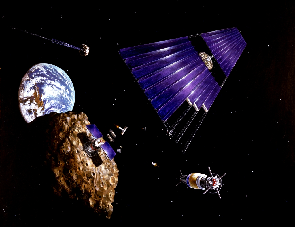 Solar_power_satellite_from_an_asteroid