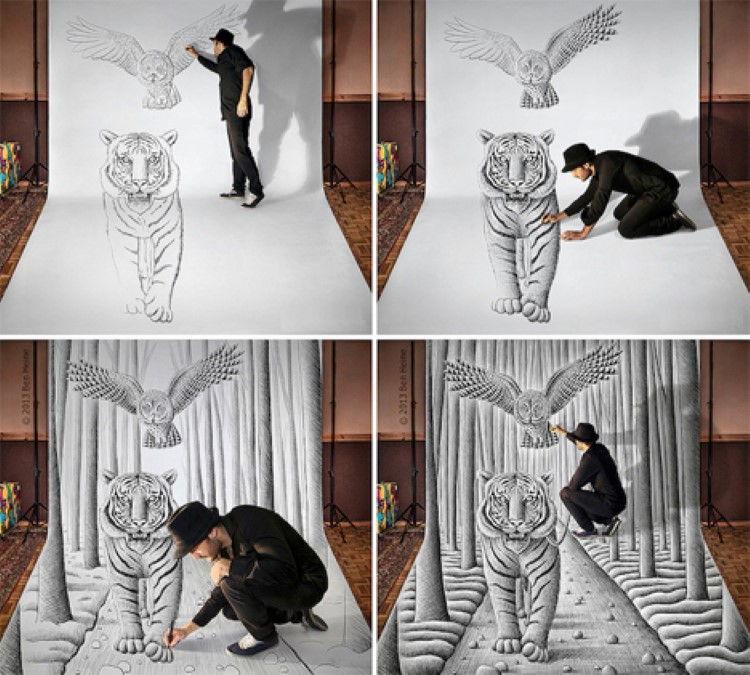 Pencil-vs-Camera-Optical-Illusion-Drawings-4