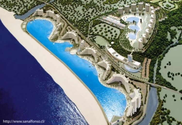 Largest Pool In Chile >> Take A Dip In The World S Largest Seawater Swimming Pool Lagoon