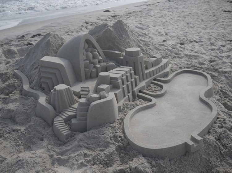 designgarage-Modernist-Sandcastles-by-Calvin-Seibert-01