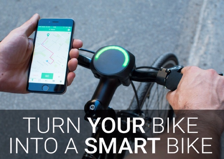 Smart Halo - Make any bike a smart bike
