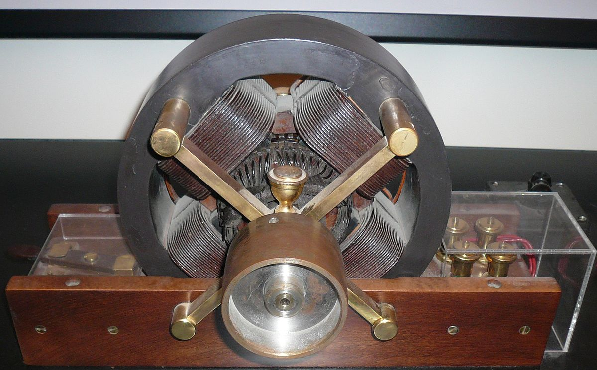 tesla inventions the induction motor