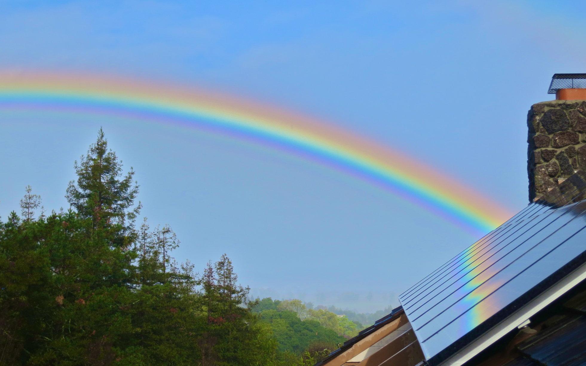 solar panel rainbow 400
