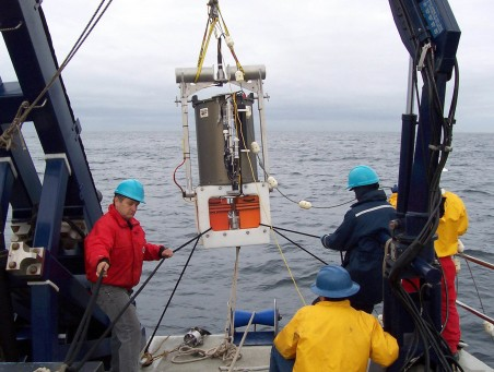 On March 16, 2006, the second generation version of the Environmental Sample Processor (ESP), an underwater, robotic DNA lab, was deployed in Monterey Bay.