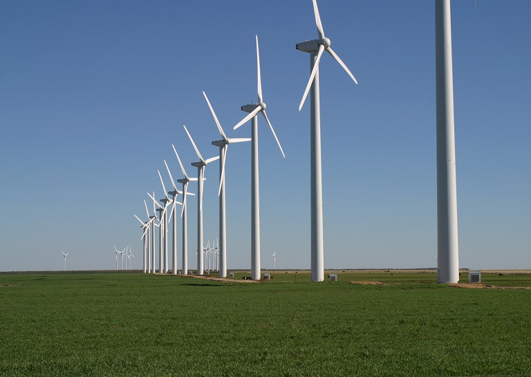 wind turnines produce most of the energy in denmark