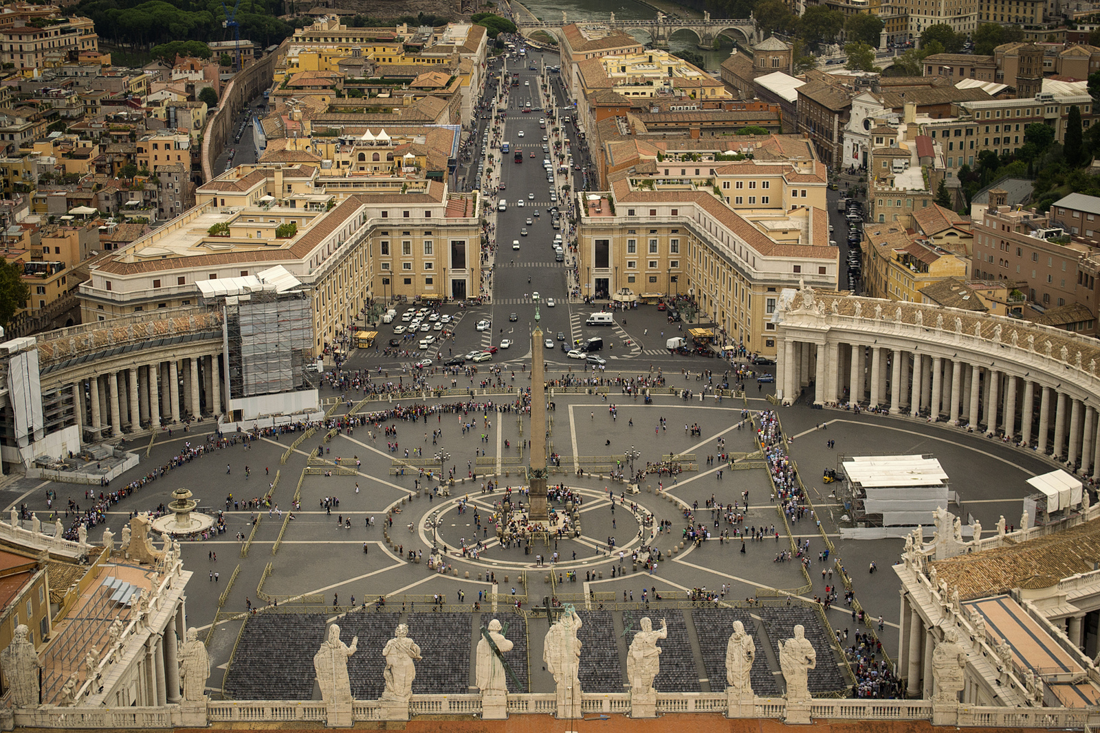 vatican city border