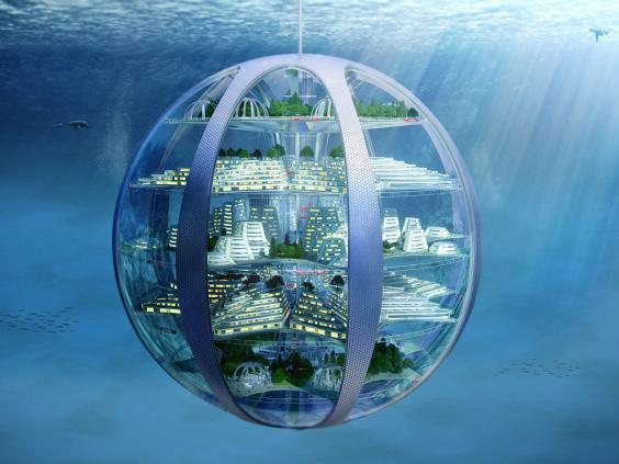 underwater city future technology
