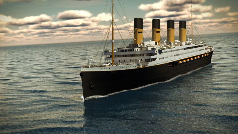 titanic 2 design set sail