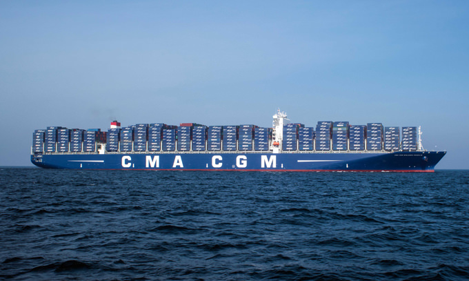 cma-cgm-benjamin-franklin container ship