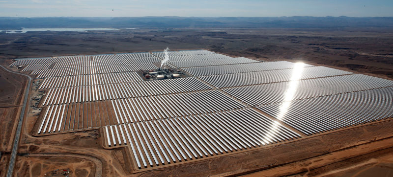phase one solar farm desert