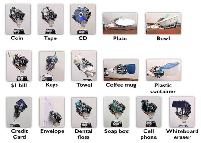 robotic hand movements