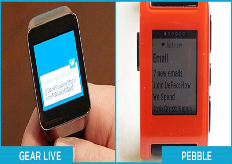 smartwatch notifications