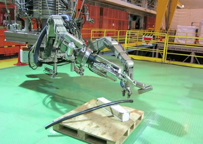 toshiba makes robot for japan
