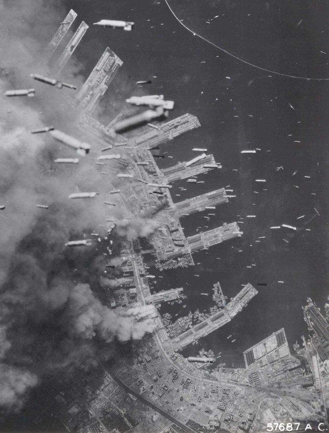 16. Bombing of Kobe, Japan