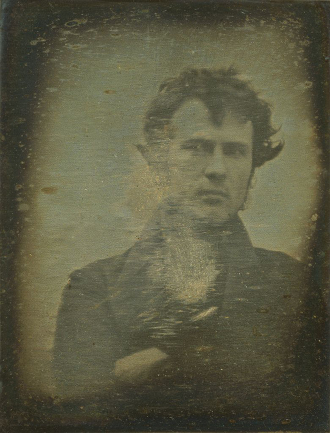 17. The oldest known selfie. (1839)