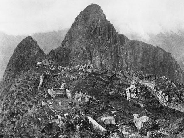 2. First Picture of Machu Picchu